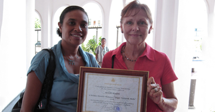 Awarded Timore-Leste's third Sergion Viera de Mello Human Rights Award